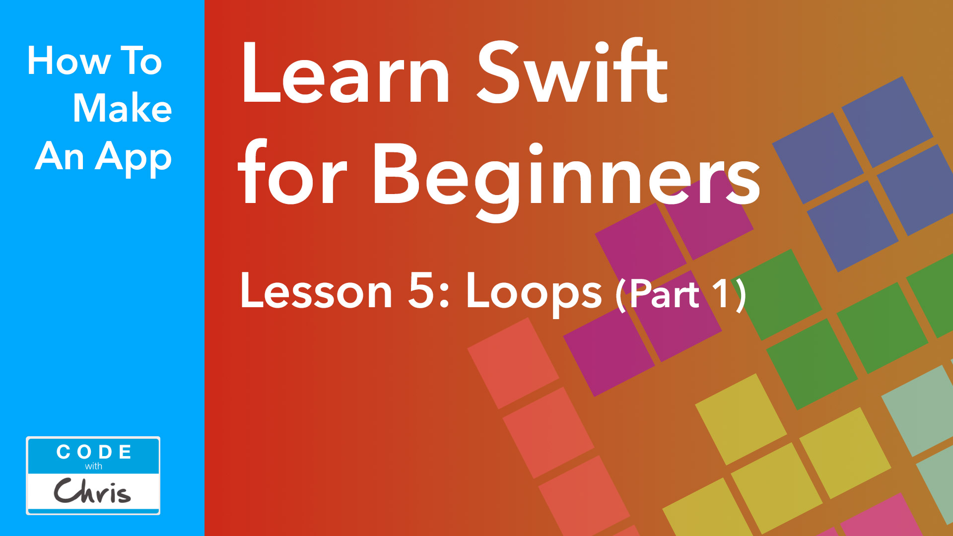Lesson 5 Loops