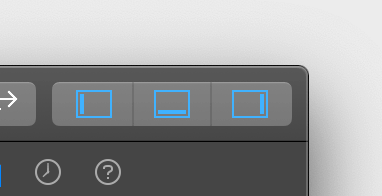 Xcode toggle view buttons